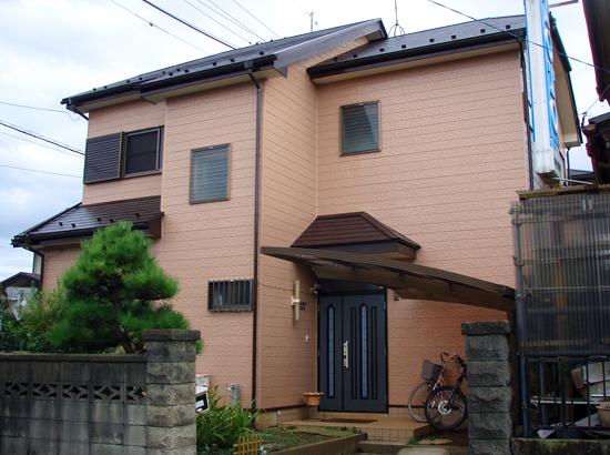 田尻様邸・塗装工事